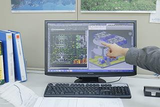 製作実例:CADソフトでの図面